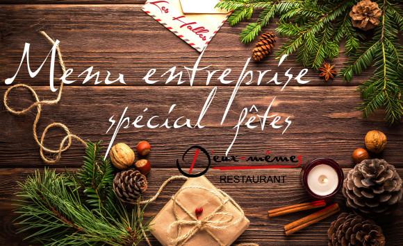 Menu spécial entreprise Restaurant D'Eux-Mêmes