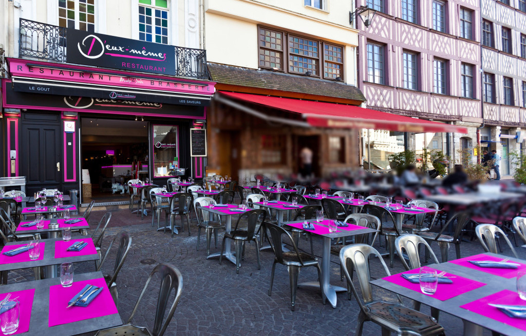 restaurant gastronomique rouen place du vieux march. Black Bedroom Furniture Sets. Home Design Ideas