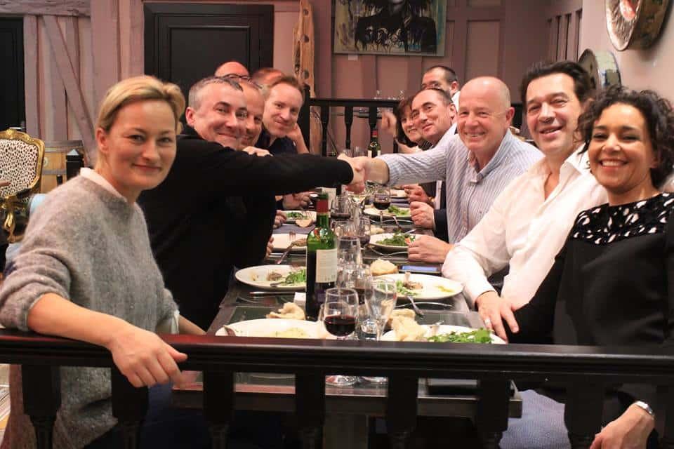 déjeuner affaires Rouen-PGS-Group