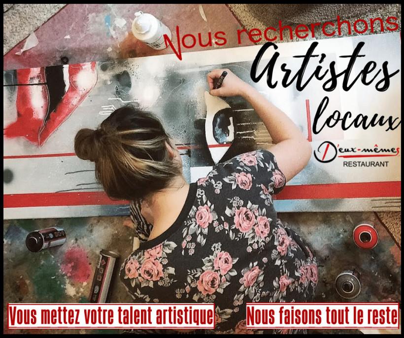 Recherche des artistes