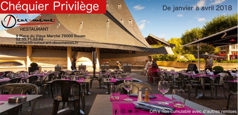 Chéquier Privilège – Restaurant D'Eux-Mêmes Rouen