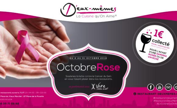 Opération Octobre Rose 2018 chez D'Eux-Mêmes à Rouen