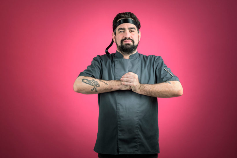 Portrait de Maxime G., second de cuisine chez D'Eux-Mêmes