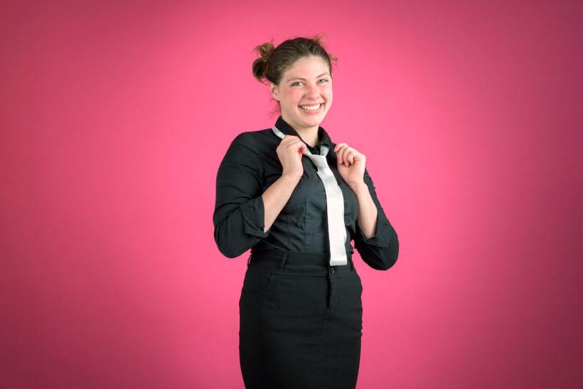 Portrait d'Alexia R., serveuse chez D'Eux-Mêmes