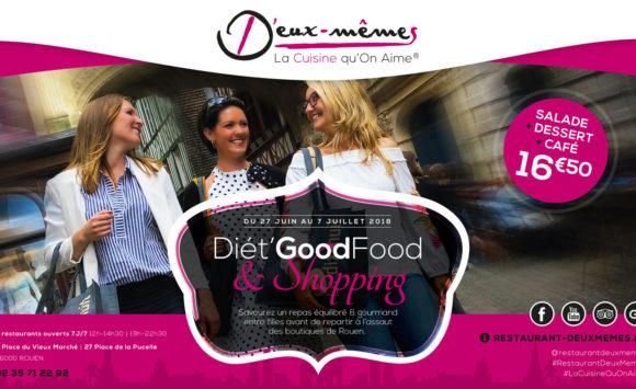 Diét'GoodFood & Shopping, le menu spécial Soldes by D'Eux-Mêmes !